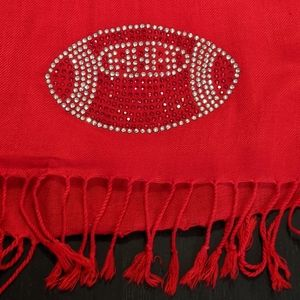 ❤️ Football Fan Wrap Scarf #hundredsofscarves